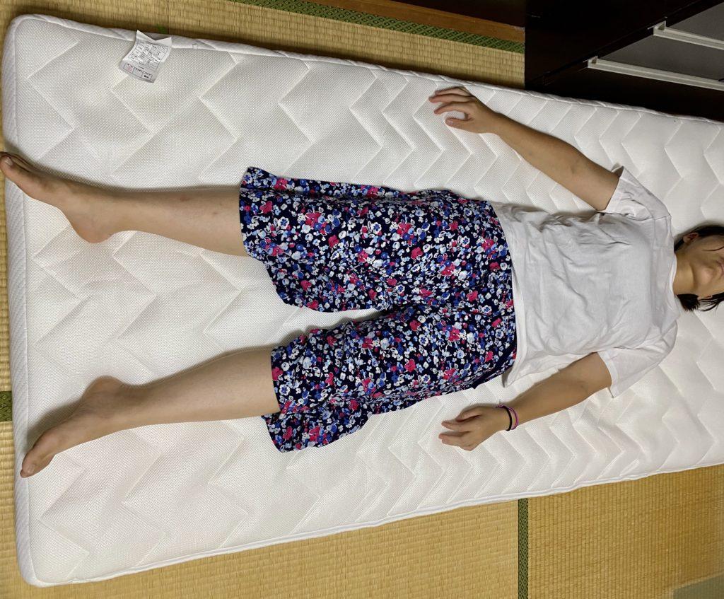 雲のやすらぎプレミアム妻が寝ている